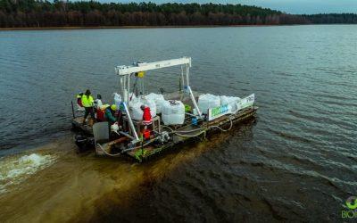 Glinka, która oczyszcza jeziora, czyli o sztuce rekultywacji