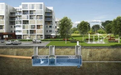 Gospodarowanie wodami opadowymi na terenie osiedli mieszkaniowych w świetle nowego Prawa Wodnego