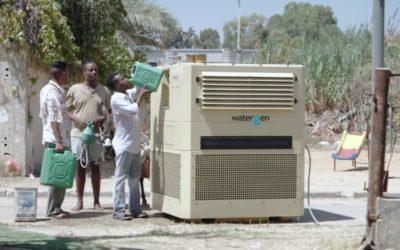 Woda generowana z… atmosfery?